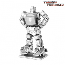 Miniature à monter en métal Transformers BUMbLEbEE (h8.7cm)