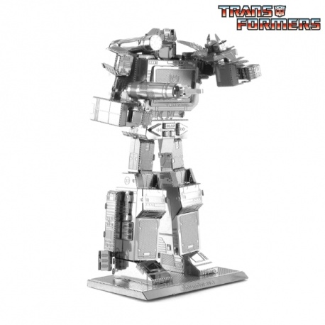Miniature à monter en métal Transformers SOUNdWAVE (h8.6cm)