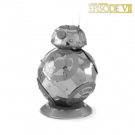 Miniature à monter en métal Star Wars BB-8 (h7.6cm)