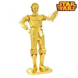 Miniature à monter en métal Star Wars Z6-PO (h12cm)
