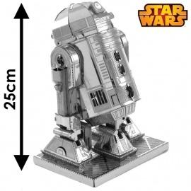 Miniature à monter en métal Star Wars R2-D2 (h25cm)