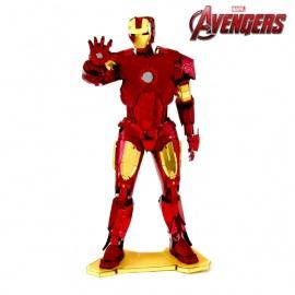 Miniature à monter en métal Avengers iRON MAN (h12cm)