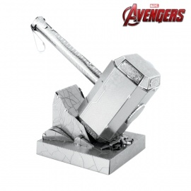 Miniature à monter en métal Avengers MJöLLNiR (h7.9cm)