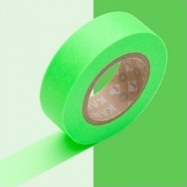 masking tape basic shocking green (vert vif) 15mm*10m