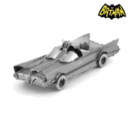 Miniature à monter en métal Batman BATMObiLE 1966 (L8.9cm)