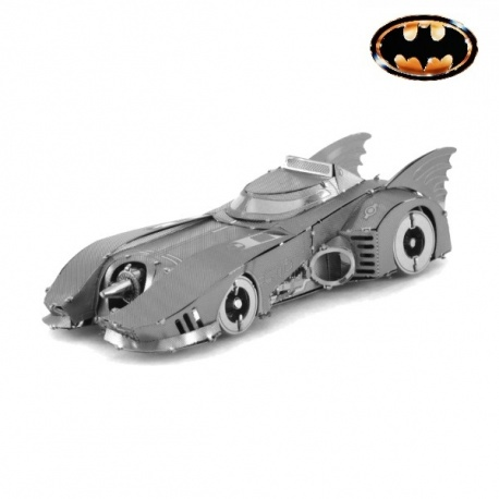 Miniature à monter en métal Batman BATMObiLE 1986 (L8.9cm)