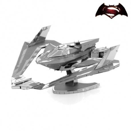 Miniature à monter en métal Batman vs. Superman BATWiNG 2016 (L9.7cm)