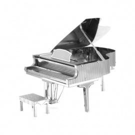 Miniature à monter en métal instrument de musique PiANO à QUEUE (h7.5cm)
