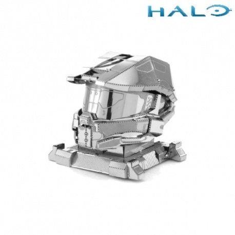 Miniature à monter en métal Halo CASQUE MASTER ChiEF (h4.5cm)