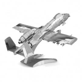 Miniature à monter en métal AViON d'ATTAQUE au SOL A-10 ThUNdERbOLT II WarthOG (L12cm)