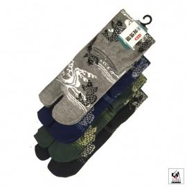 Chaussettes à orteil japonaises CARPE KOi 鯉 (extensible t39 à t44)