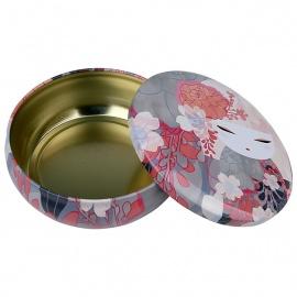 Boîte métallique ronde 13x4 Kimmidoll ChiKA (Sagesse)