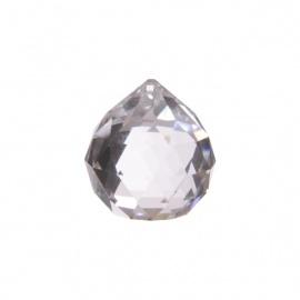 Boule à facettes en cristal de verre d4cm