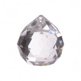 Boule à facettes en cristal de verre d6cm
