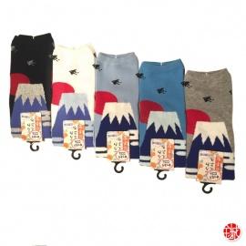 Soquettes à orteil japonaises MONT FUJi (extensible t34 à t39)