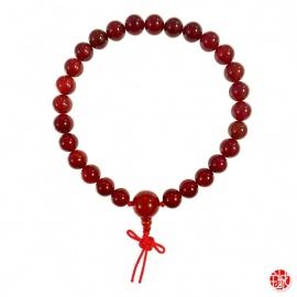 Bracelet mālā en agate 27 perles de 10mm