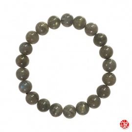 Bracelet perles en LABRADORiTE 8mm