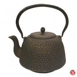 Théière en fonte chinoise SAKURA 1L bronze