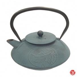 Théière en fonte chinoise PiN 0.80L bleu