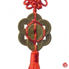 Amulette 8 pièces rond