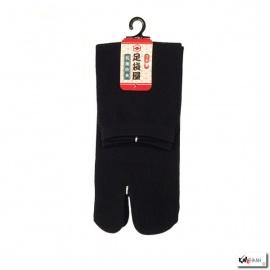 Chaussettes à orteil japonaises UNiES noires (extensible t34 à t39)