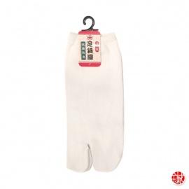 Soquettes à orteil japonaises UNiES blanches (extensible t34 à t39)
