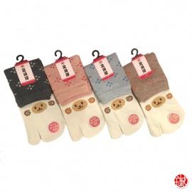 Chaussettes à orteil japonaises MOUTON (extensible t34 à t39)