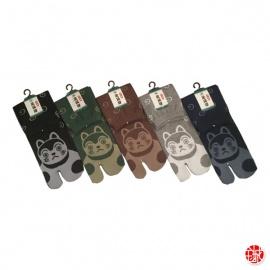 Chaussettes à orteil japonaises iNU (extensible t39 à t44)