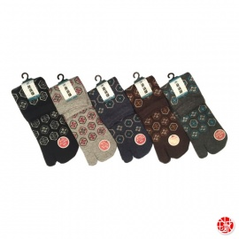 Chaussettes à orteil japonaises KiKKU (extensible t39 à t44)