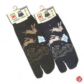 Soquettes à orteil japonaises LAPiNS ASANOhA (extensible t39 à t44)