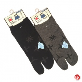 Soquettes à orteil japonaises ShURiKEN (extensible t39 à t44)