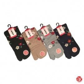 Chaussettes à orteil japonaises CAMéLiAS (extensible t34 à t39)