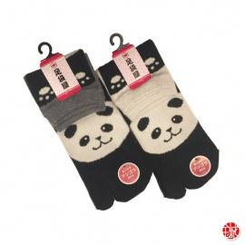Chaussettes à orteil japonaises PANdA (extensible t34 à t39)