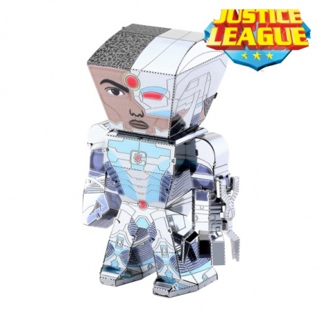 Miniature à monter en métal Legends Justice League CYbORG