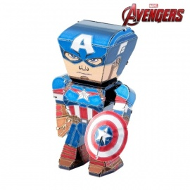 Miniature à monter en métal Legends Avengers CAPTAiN AMERiCA