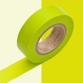 masking tape basic moegi (vert anis) 15mm*10m