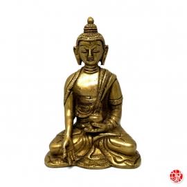 Bouddha MédECiNE en laiton (h12.5)