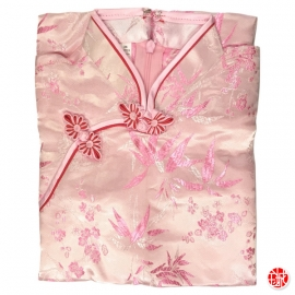 Robe chinoise (qipao 旗袍) enfant ROSE motif 3 AMiS ROSE