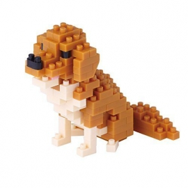 nanoblock mini GOLDEN RETRIVER