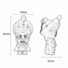 Figurine OPéRA du SiChUAN à 4 ViSAGES (h10.2cm)