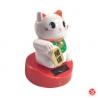 Maneki Neko animé SOLAiRE blanc h9cm