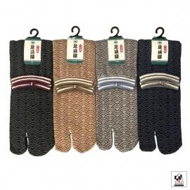 Chaussettes à orteil japonaises VAGUE (extensible t34 à t39)
