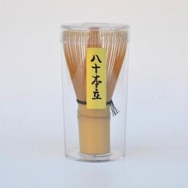 Fouet à thé pour le matcha en bambou chasen 茶筅 h10.5cm (Chine)
