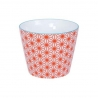 Tasse STARWAVE rouge en porcelaine (18cl)
