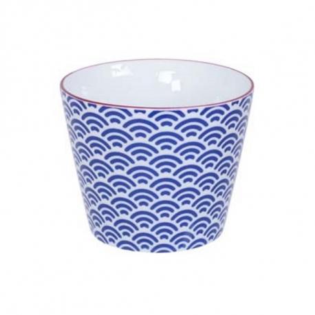 Tasse STARWAVE bleu en porcelaine (18cl)