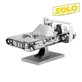 Miniature à monter en métal Star Wars LANDSPEEdER de HAN SOLO