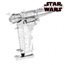 Miniature à monter en métal Star Wars BOMBARdiER de la RéSiSTANCE (L11.8cm)