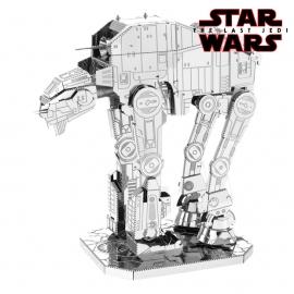Miniature à monter en métal Star Wars AT-M6 WALKER d'ASSAUT (L8.6cm)