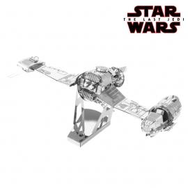 Miniature à monter en métal Star Wars SKi SPEEdER de la RéSTANCE (L13.1.cm)