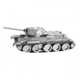 Miniature à monter en métal TANK T-34 (L7.5cm)